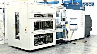 G350 Automatisierung mit Palettenspeicher
