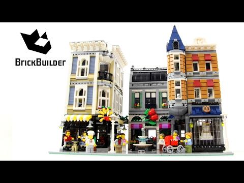 Vidéo LEGO Creator 10255 : La place de l'assemblée