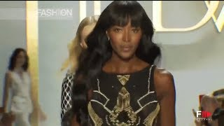 Naomi Campbell For DIANE VON FURSTENBERG Spring Summer 2014 New York HD By Fashion Channel
