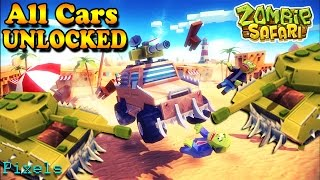 Zombie Safari - All Cars & Weapons Unlocked