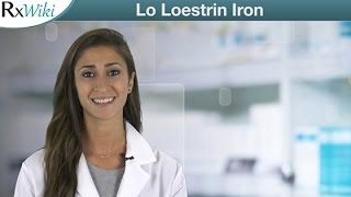 Lo Loestrin Iron For Pregnancy Prevention - Overview