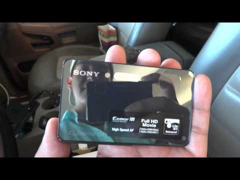 Sony Cybershot DSC-TX200V: Unboxing and Review