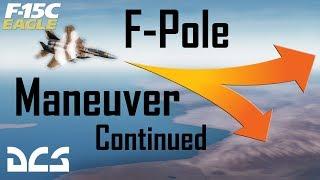 DCS: The F-Pole Maneuver Vs Multiple Targets. (R-77 Adder)