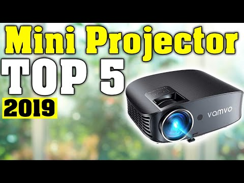 TOP 5: Best Mini Projector 2019