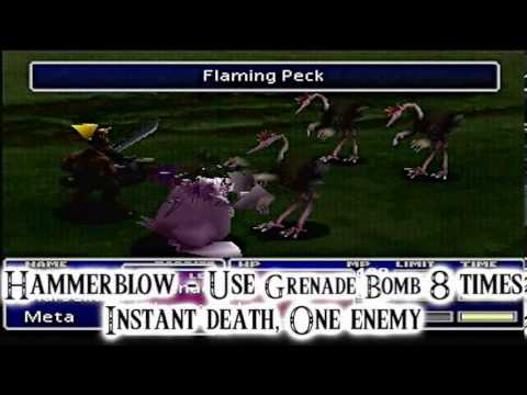 Final Fantasy VII Limit Break Guide - Barret Wallace