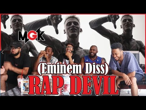 Machine Gun Kelly – Rap Devil (Eminem Diss) REACTION/REVIEW