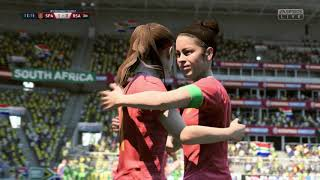 FIFA 19 - Group B Spain Vs South Africa - 2019 Women's World Cup France - Full Match
