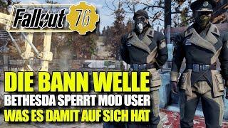 BANN WELLE | Spieler Bann wegen Mods | Fallout 76