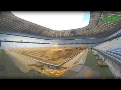 Umbau der Allianz Arena 2014