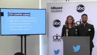 Top Country Album Finalists - BBMA Nominations 2015