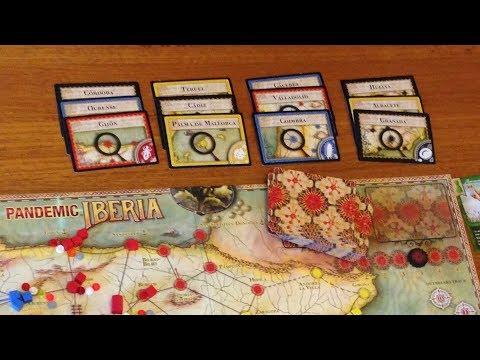Information presentation to help win Pandemic Iberia