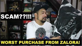 ZALORA DISAPPOINTMENT UNBOXING
