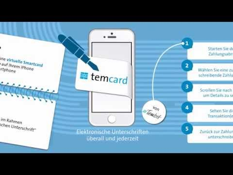 Video of temcard