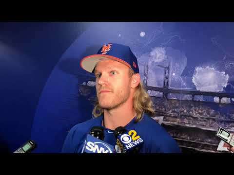 Syndergaard Talks Ramos, Battery Situation