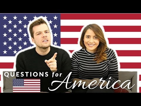 Questions For Americans! 👀🇺🇸