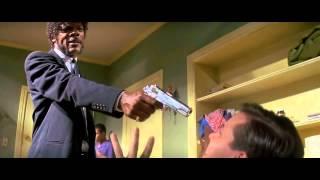 Pulp FIction (1994) Best scene - Samuel Jackson
