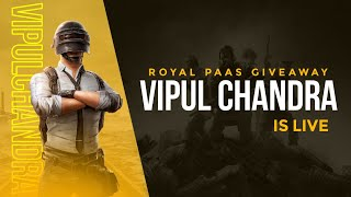 PUBG MOBILE KR LIVE | CUSTOM ROOMS | UC GIVEAWAY | JOIN NOW 🔥
