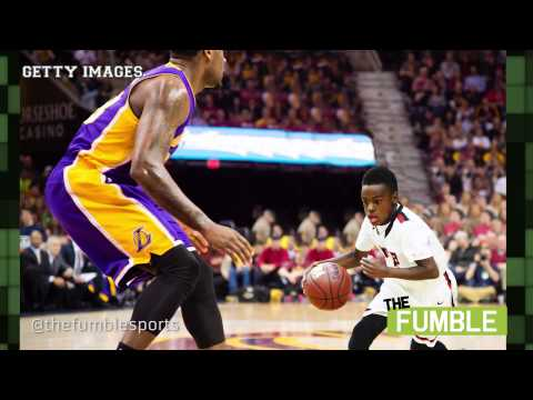 Download LeBron James' Son Shows Off His Insane Basketball Skills HD Mp4 3GP Video and MP3