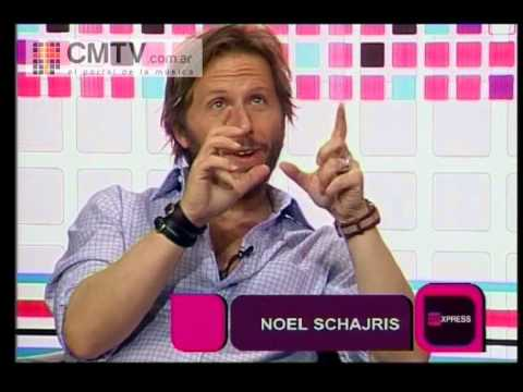Noel Schajris video Entrevista 28-06-2012 - Estudio CM
