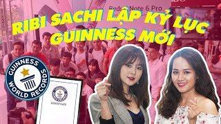 Ribi Sachi FAP TV lập kỉ lục Guinness khi selfie cùng 133 người !