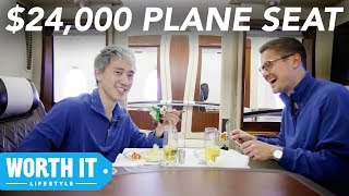 $139 Plane Seat Vs. $24,000 Plane Seat - Video Youtube