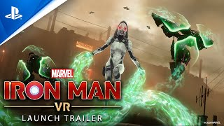 Marvel's Iron Man VR – Launch Trailer   PS VR