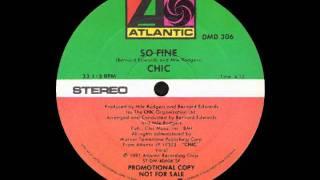 Chic - So Fine (1981)