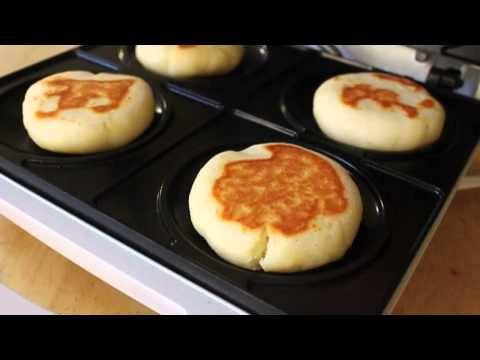 Cream Cheese Arepas – Arepas Maker Test – Breakfast Arepas Recipe