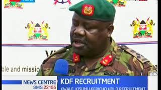 KDF recruitment exercise kicks off