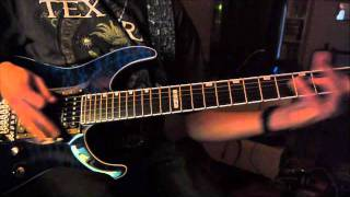Judas Priest - Hellrider (cover with solos)