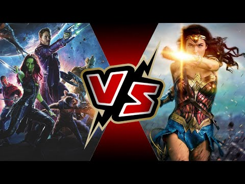 Guardians of the Galaxy VS Wonder Woman | Battle Arena