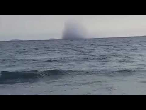 Italian Eurofighter Airplane crash during show in Terracina