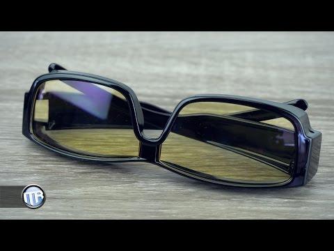 Bildschirme schaden den Augen?! - Top Life Anti-Blaulicht Brille im Test!