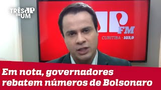 Marc Sousa: Estados receberam dinheiro do governo federal acima da média
