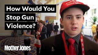 Young CPAC Conservatives on Gun Reform
