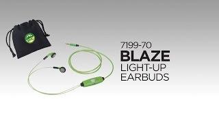 7199-70 Blaze Light-Up Earbuds