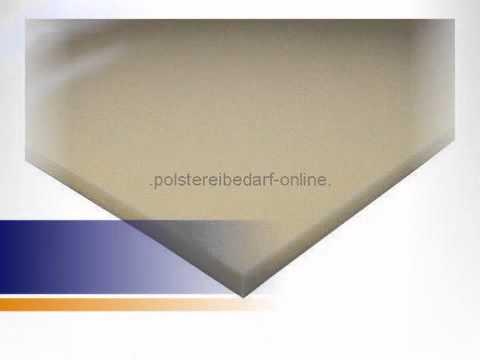 Schaumstoff Platte 200cm x 130cm x 2cm RG 50/75 - polstereibedarf-online.de