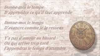 Jenifer - Donne-moi le temps [Lyrics]