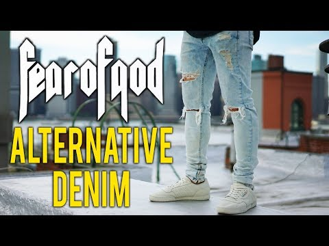 Hyper Denim Review! | Fear Of God Cheap Alternative Zipper Jeans