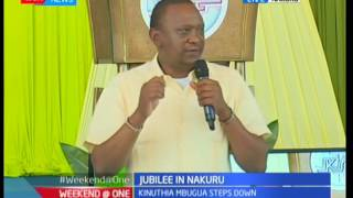 President Uhuru gives spiritual nourishment to worshipers in Nakuru