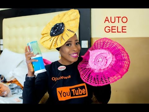 Quick and easy way to clean your iconic auto Gele