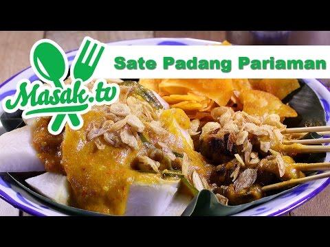 Video Sate Padang Pariaman | Resep #224