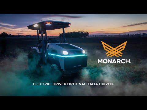 Robot trattore completamente elettrico: Monarch Tractor