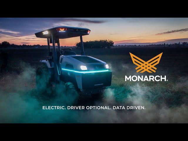 Monarch Tractor – самый умный трактор в мире