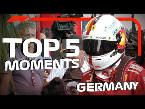 Top 5 Moments | 2018 German Grand Prix