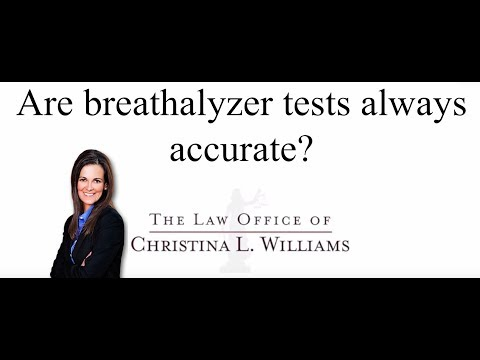 Are breathalyzer tests al…