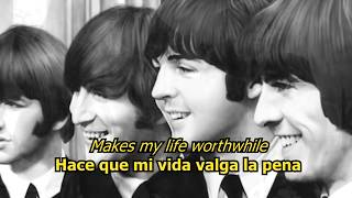 To know her is to love her - The Beatles (LYRICS/LETRA) [Original]