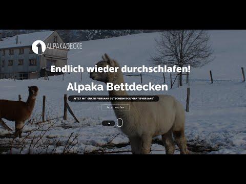 Alpaka Bettdecke von NaturGuet - Beste Qualität 100% swiss made