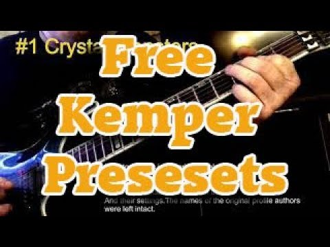 Some free Kemper Profiler Effects Presets with preview video