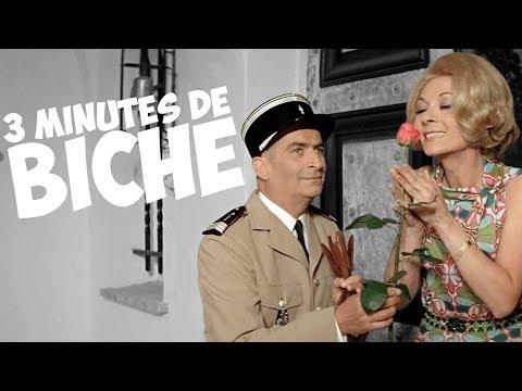 3 minutes de biche avec Louis de Funès !